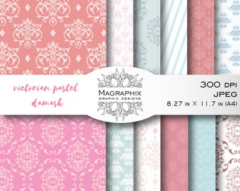 12 Digital Papers. Perfect for baby shower, parties, web graphics, business cards, scrapbooking, invitations, wedding stationery&much more.
