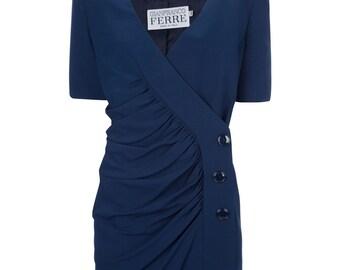 8df9297379 Gianfranco Ferré 90s blue suit