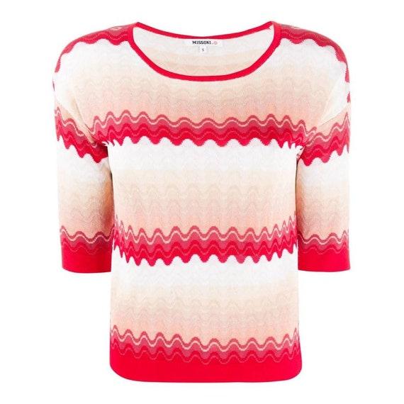 90s Missoni knit top