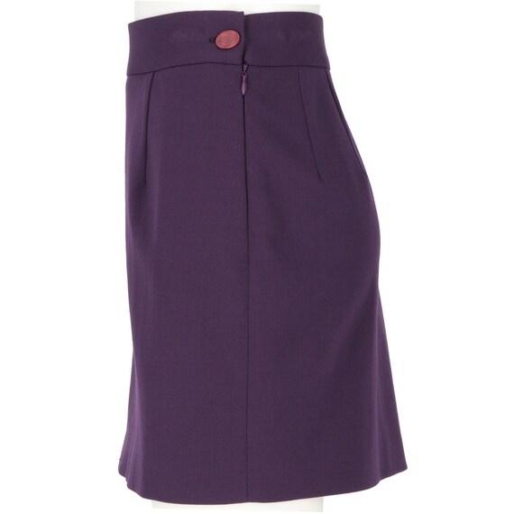 Vivienne Westwood 90s purple miniskirt - image 2