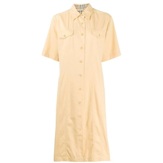 Burberry 90s shirt dress