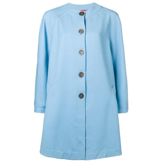 Emanuel Ungaro 80s light blue coat