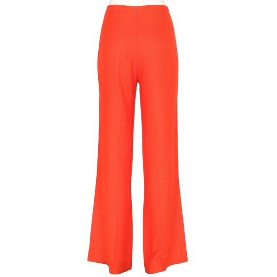 Jean Patou 70s orange trousers
