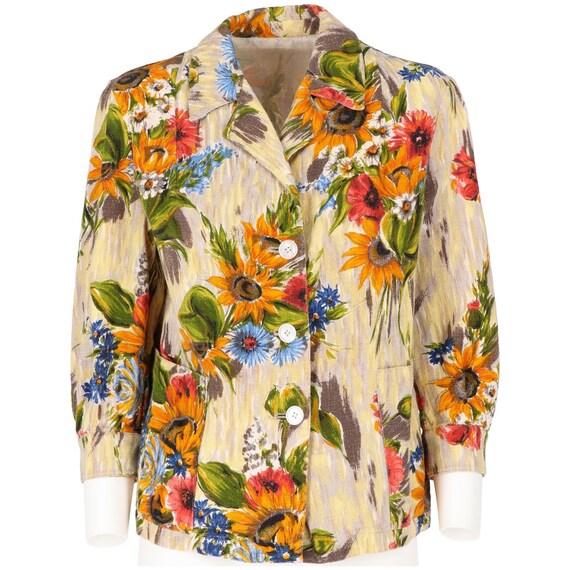 Floral 50s jacket