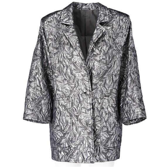 Sportmax 80s silver jacket