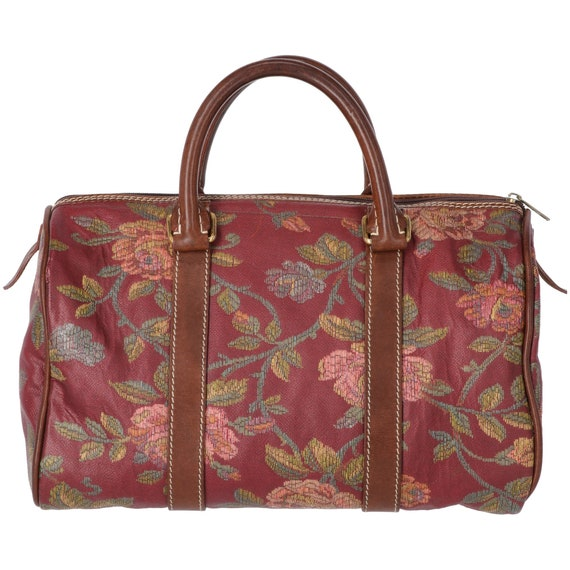 Etro 90s fancy floral handbag
