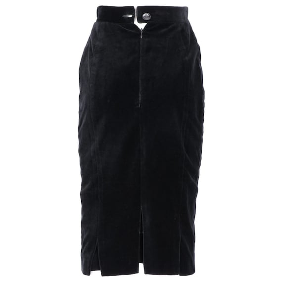 Vivienne Westwood 90s velvet skirt - image 3