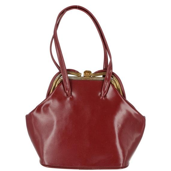 Bordeaux 40s handbag