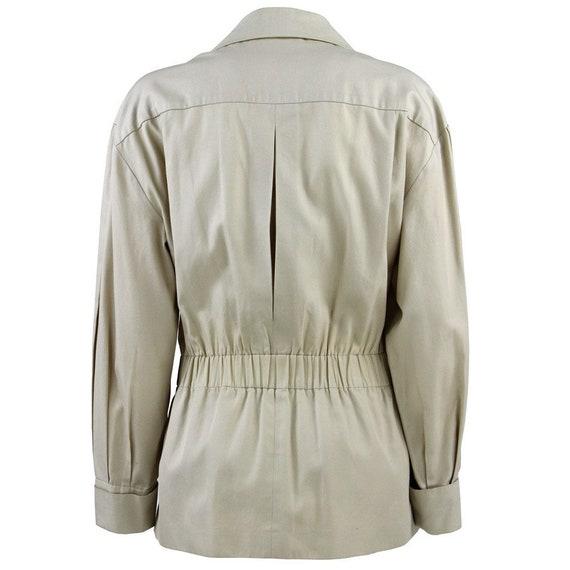 90s beige Chanel jacket - image 3