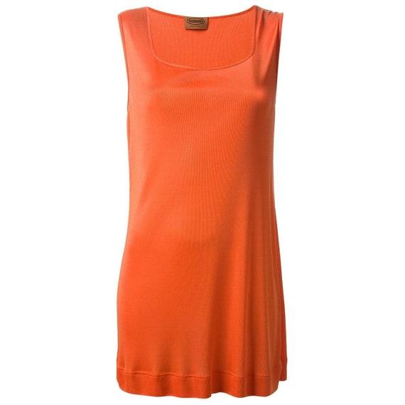 Missoni 90s orange top
