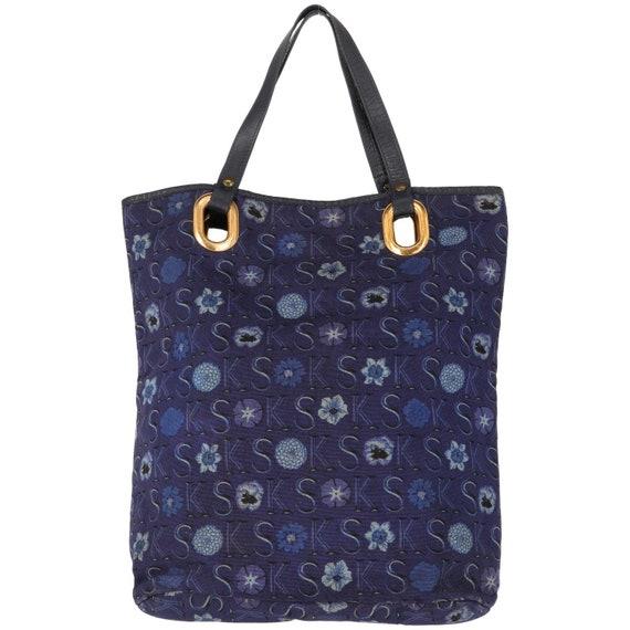Ken Scott 70s blue shopper bag
