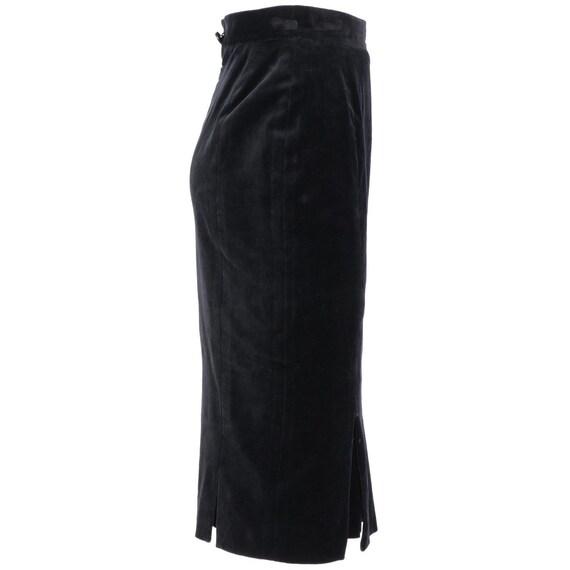 Vivienne Westwood 90s velvet skirt - image 2