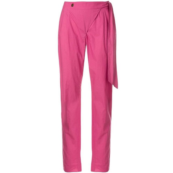 Moschino 90s pink trousers