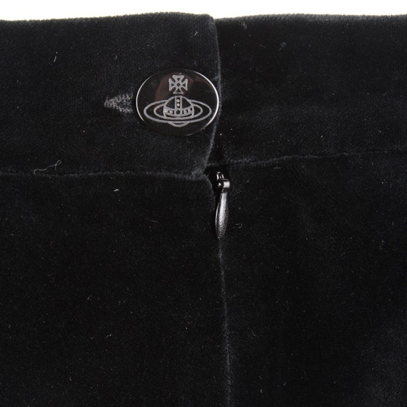 Vivienne Westwood 90s velvet skirt - image 4