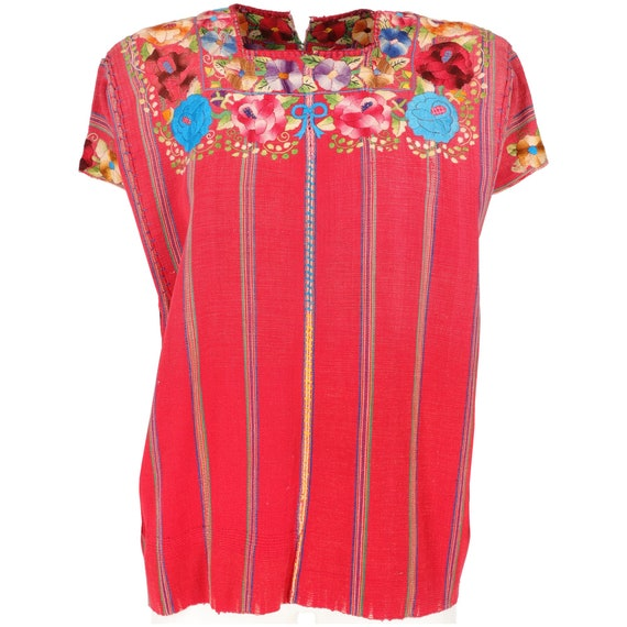 60s ethnic top with embroideries