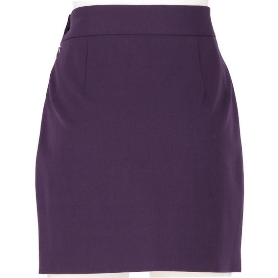 Vivienne Westwood 90s purple miniskirt - image 3