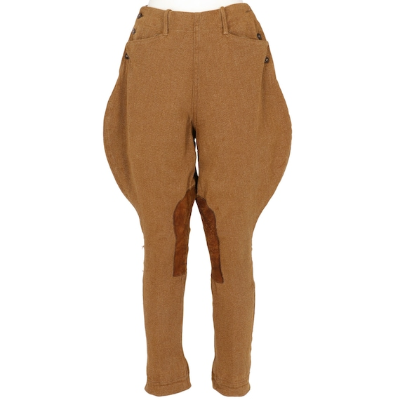 50s brown riding pants