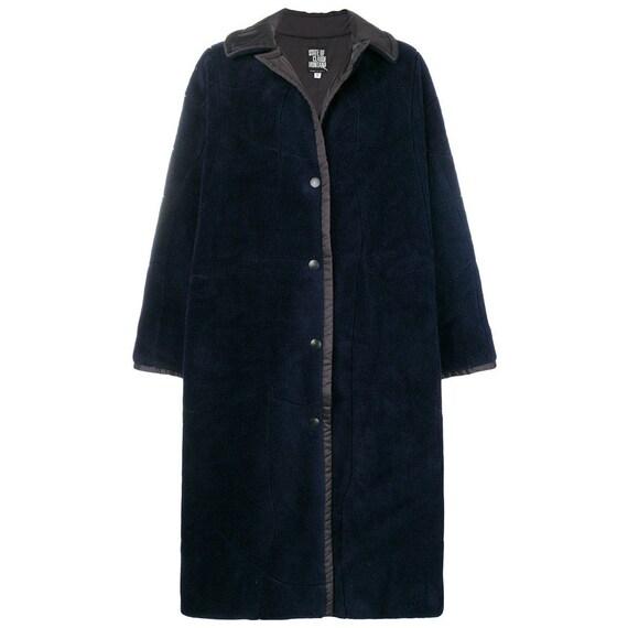 Claude Montana 90s blu coat