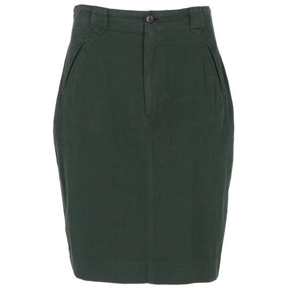 Ralph Lauren 90s green skirt