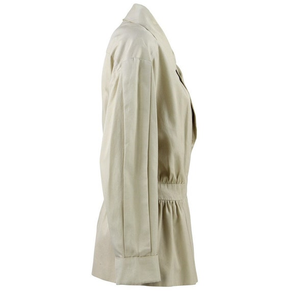 90s beige Chanel jacket - image 2