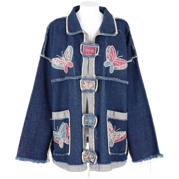 80s Jeans jacket