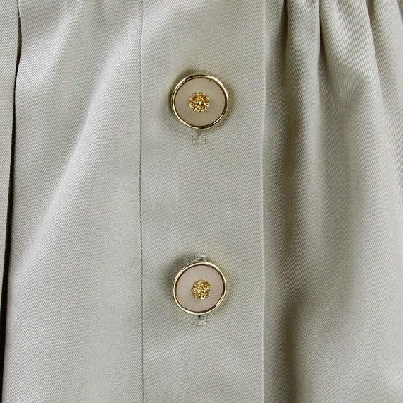 90s beige Chanel jacket - image 4