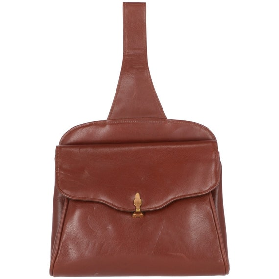 50s brown bag with handle