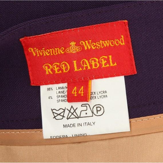 Vivienne Westwood 90s purple miniskirt - image 5