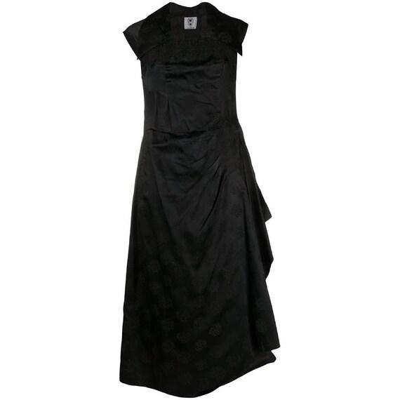 90s Valentino jacquard dress