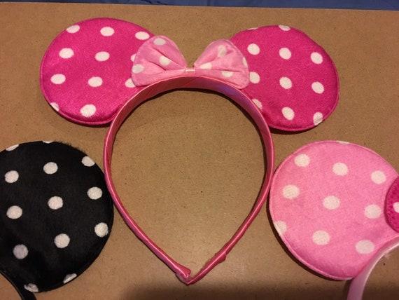 Minnie Mouse and Unicorn headband