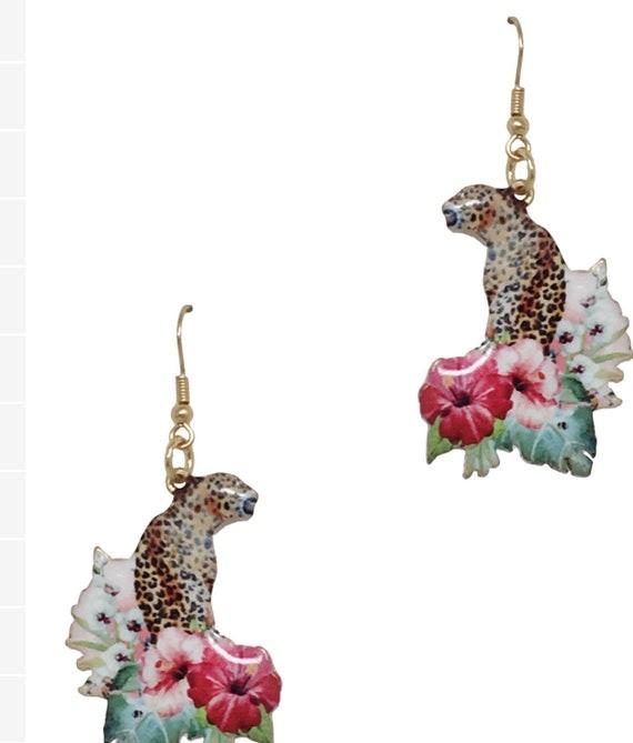 Exotic Earrings and bangle set