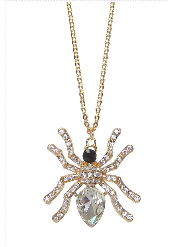 Spider ring and Necklace Set