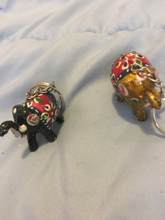 African elephant or African Drum Keychain