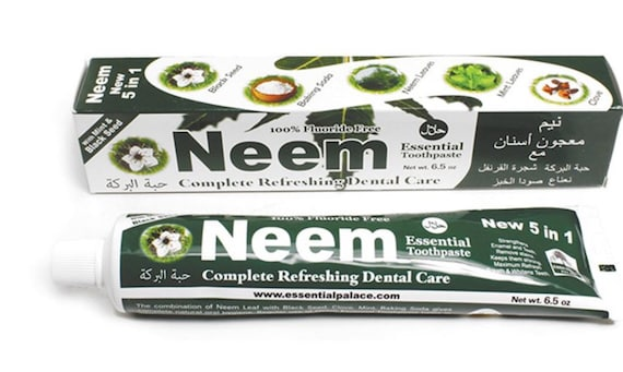 New Neem Toothpaste with Essential oils