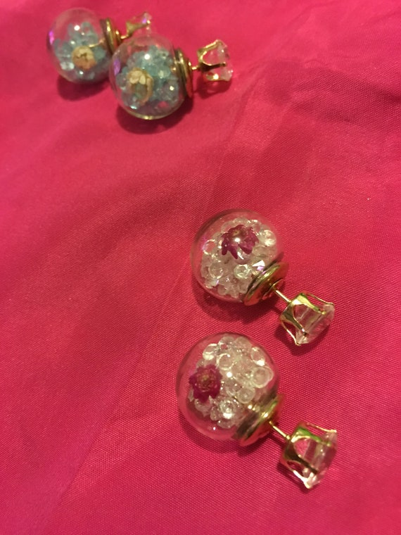Beautiful stud bubble Earrings