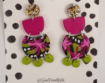 Midnight garden statement dangles