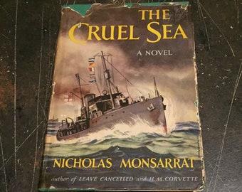 The Cruel Sea: A Novel by Nicholas Monsarrat, 1966 book club edition