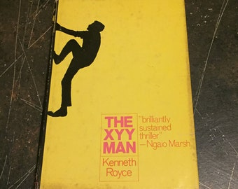 FIRST EDITION The XYY Man by Kenneth Royce, 1970