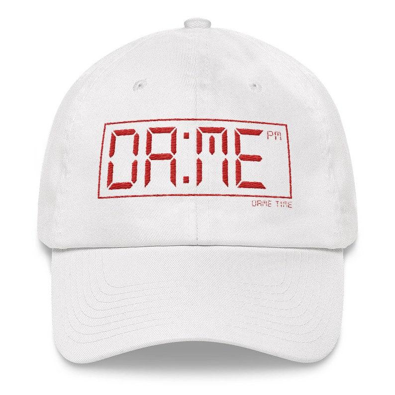 5726fa1c1886d Dame Time Damian Lillard Dad hat