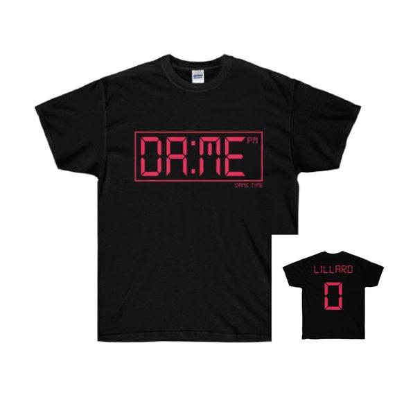 buy online 0dffd faccd Dame Time - Damian Lillard - Jersey T Shirt