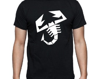 T-shirt Fiat Abarth-black-size S