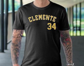 Pittsburgh Pirates Roberto Clemente Jersey Tee Shirt Men Size S-5XL,Pittsburgh Pirates t shirt,Roberto Clemente t shirt
