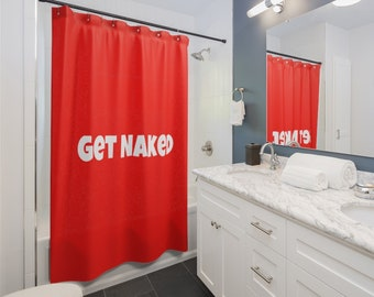 Shower Curtains - get naked curtains for your shower
