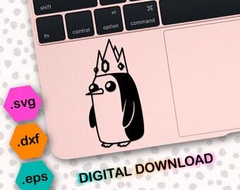 Gunter Svg Cut File Dxf Vector Cricut Cameo Adventure Time Penguin