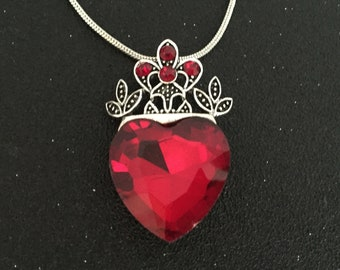 Image result for ruby crown pendant