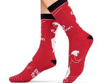 Pulp Fiction Sublimation Socks