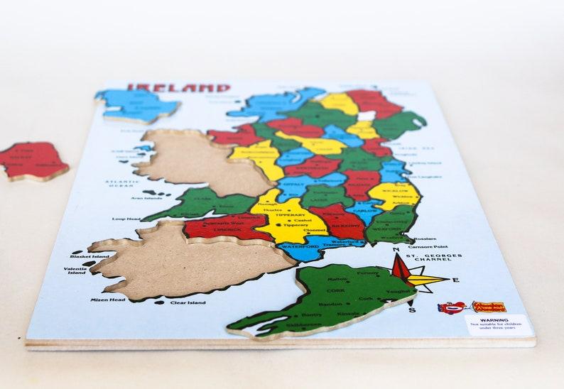 Jigsaw Map of Ireland