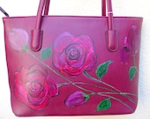 Women 39 s Gift Colourful Clutch Gift For Me Free Shipping Handbags Purses Hand Bag Hand Painted Leather Shoulder Bag Colourful Art
