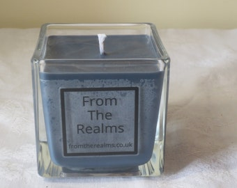 DRAGONS HEART scented candle jar