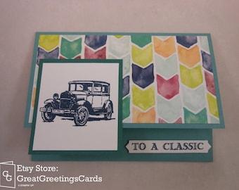 Birthday Gift Card Holder Card